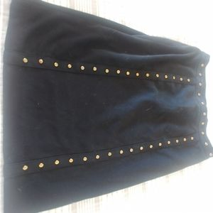 Grace elements studded pencil skirt